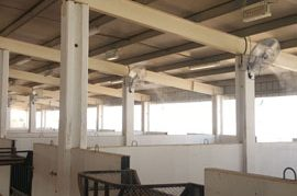 barns misting systems