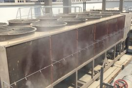 pre-cooling system by mist