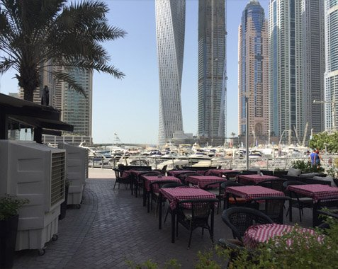 Outdoor Cooling Systems In Dubai